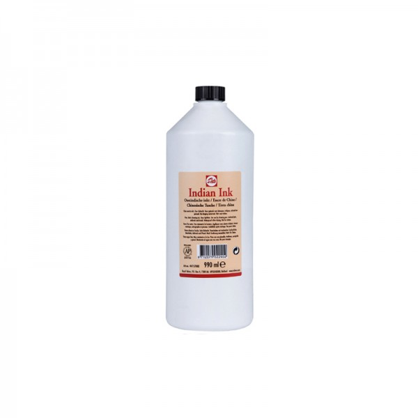 Talens туш Indian Ink 990 ml черен