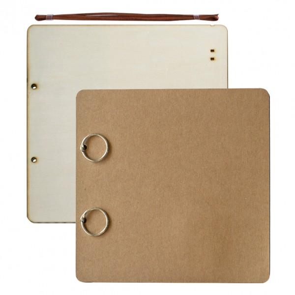 Албум за снимки 30*30 cm, 24 листа, крафт