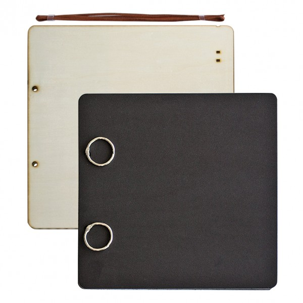 Албум за снимки 30*30 cm, 24 листа, черен
