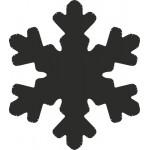 Перфоратор за Изрязване на Снежинка от Хартия и Картон - 10 mm