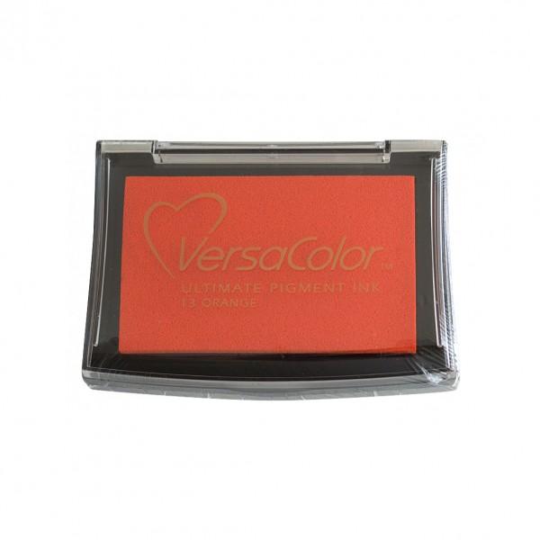 Tsukineko пигментен тампон VersaColor 10*6 cm, 25-оранж