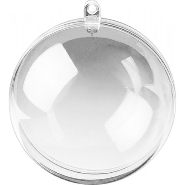 Прозрачна Топка от Две Половинки 140 mm