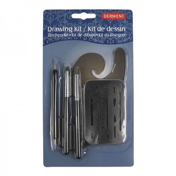 Derwent комплект Ключови средства за рисуване с молив