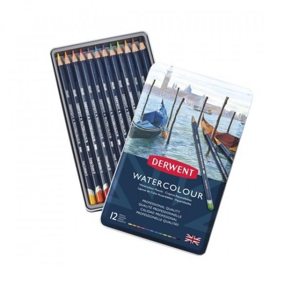 Derwent комплект Watercolour 12 цвята