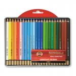 KOH-I-NOOR - Акварелни моливи Mondeluz 24 цв