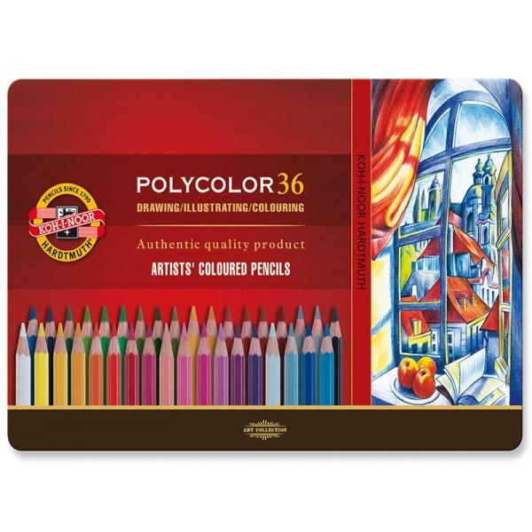 Цветни моливи KOH-I-NOOR 36цв.