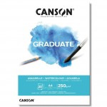 CANSON WATERCOLOUR A4 - АКВАРЕЛЕН блок 20 листа
