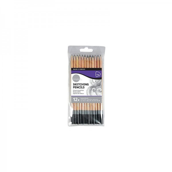 Daler Rowney комплект моливи Sketching Pencils 12 цв