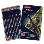 Derwent комплект моливи Инктенз 12 цвята