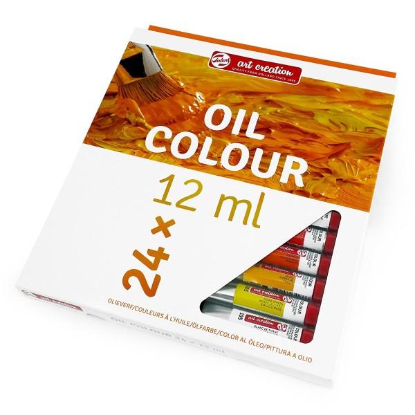 TALENS ART OIL 24 - Фини Маслени бои 24 цвята