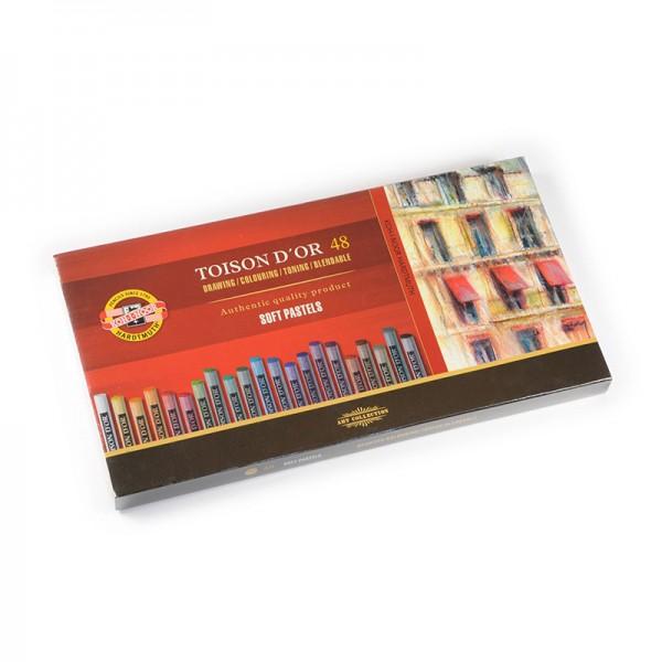 KOH-I-NOOR - сухи пастели комплект 48 цвята