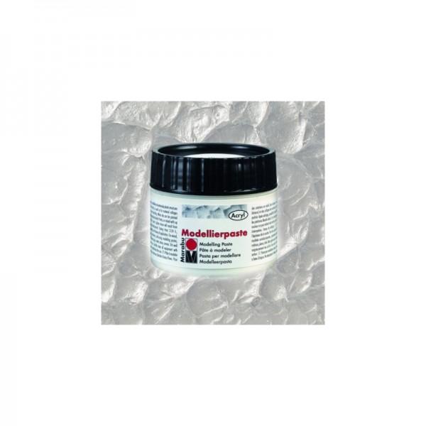 Моделираща паста 100 ml сребро №82 - Marabu modellierpaste