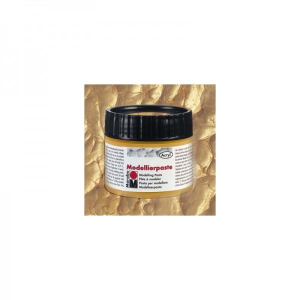 Моделираща паста 100 ml злато №84 - Marabu modellierpaste