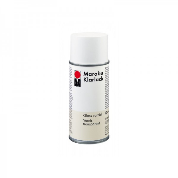 Marabu лак 150 ml КЛАРЛАК гланц аерозол