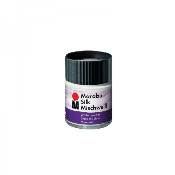 Боя за коприна - бял микс Marabu 50 ml