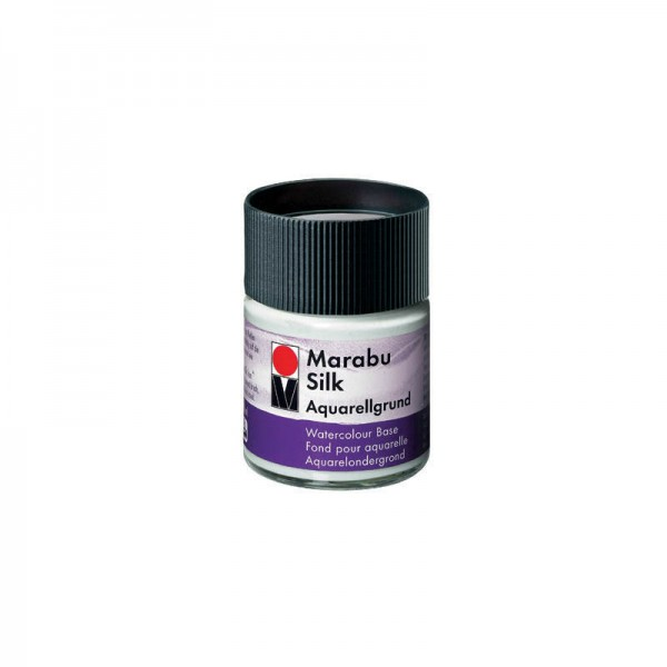 Боя за коприна - акварелен грунд Marabu 50 ml