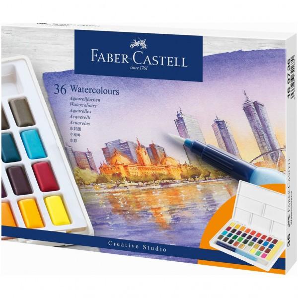 Акварелни бои Creative Studio Faber-Castell 36 цвята