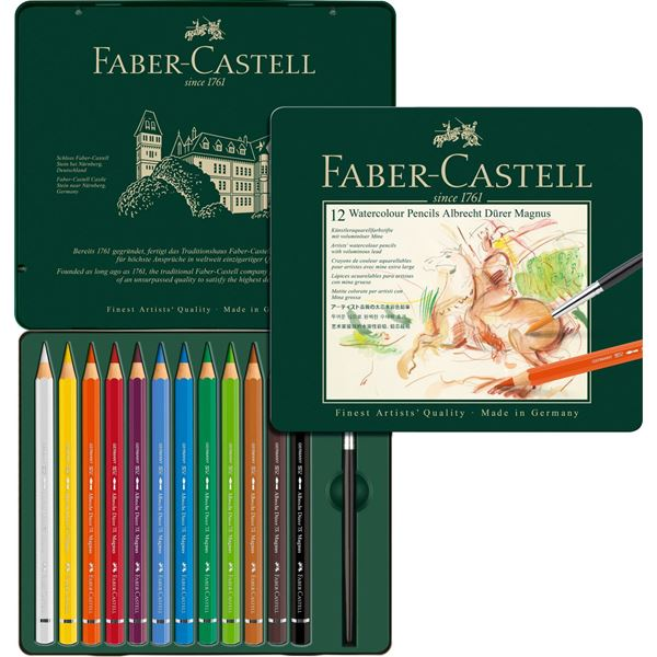 Акварелни моливи 12 цв. - Albrecht Durer Magnus Faber-Castell