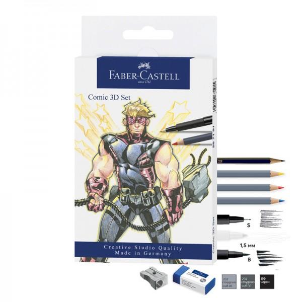 Комплекти Manga&Comic-PITT Artist Pen 11 бр - Comic 3D set