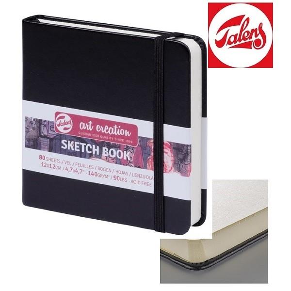 TALENS SKETCHBOOK 12 x 12 cm - 80 листа / 140гр