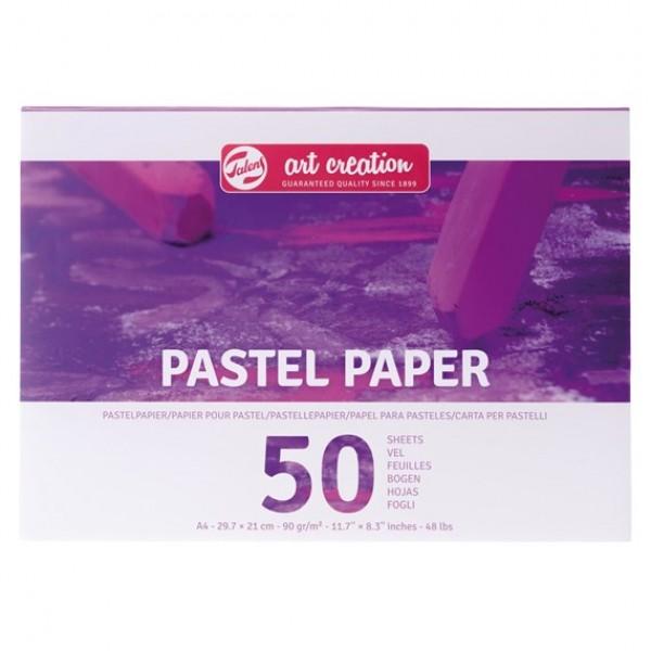 Скицник за пастели Talens A4 - 50 листа 90 гр