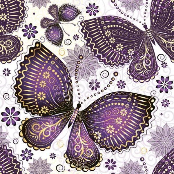 Салфетка за декупаж 2SDOG15001 пеперуда №1