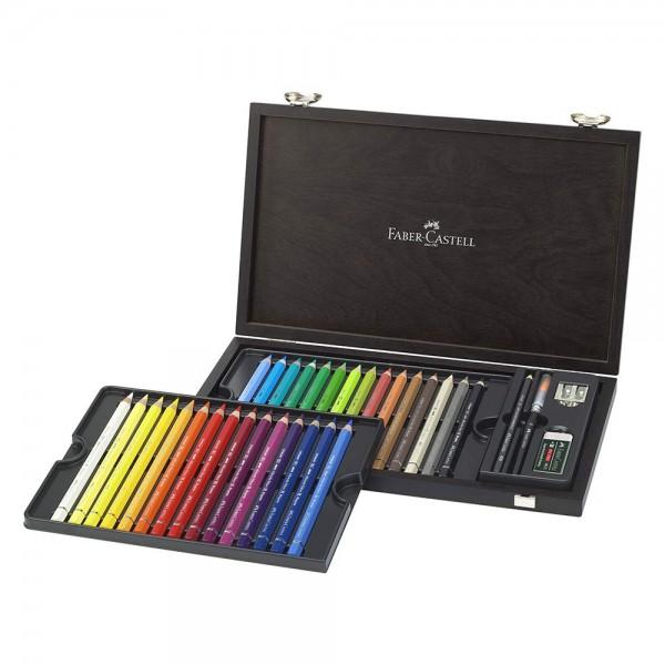 Акварелни моливи 24 цв. ( махагонова кутия) - Albrecht Durer Magnus Faber-Castell
