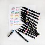 Акварелни маркери-четка Pentel Brush Sign Pen УЛТРА ФИНА, 1бр.
