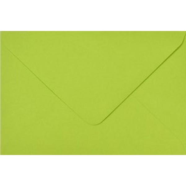 Зелен Плик C6 (114 mm x 162 mm) 115 gsm - Лайм - 25броя