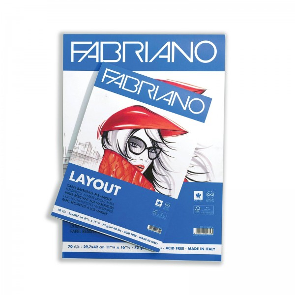 Скицник Fabriano LAYOUT A4