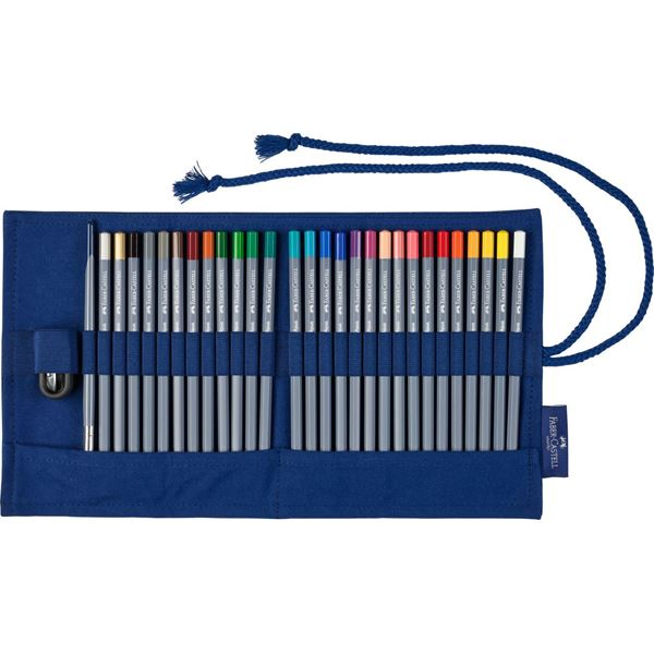Моливи цветни Goldfaber 30 части текст. руло