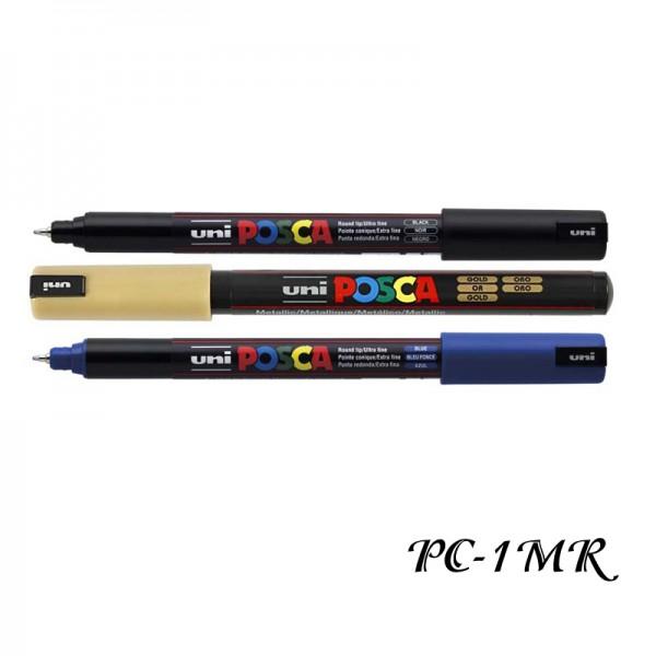 Маркер UNI Posca PC-1MR 0.7мм - за всякаква повърхност