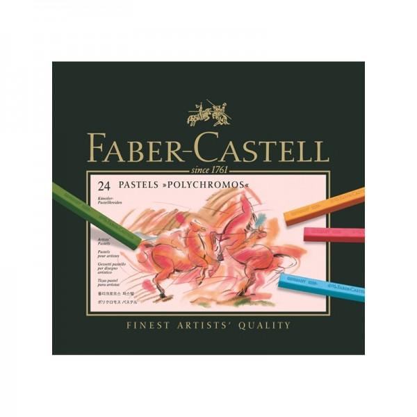 Пастели Polychromos 24 цв - Faber Castell