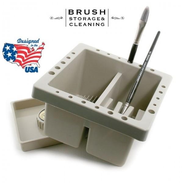 BRUSH BASIN R&L - Съд за вода , съхранение и миене на четки RD325