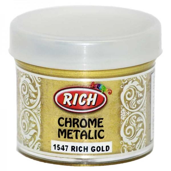 Акрилна боя Rich Chrome Metalic 50ml - 1547 RICH GOLD