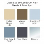 Двувърхи алкохолни маркери Classique - Комплект 6 Цвята - Сянка и Тон