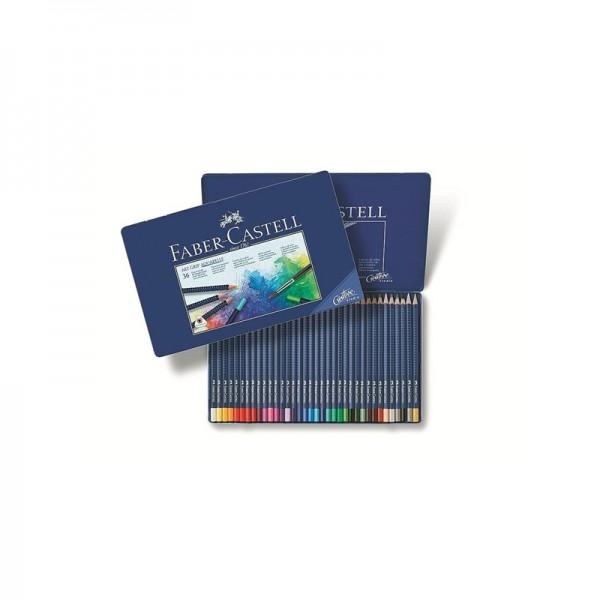 Акварелни моливи комплект 36 цв. Art Grip Aquarelle - Faber Castell