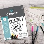 Скицник за маркре - MARKER PAD LETTERING CANSON 24X32 180гр