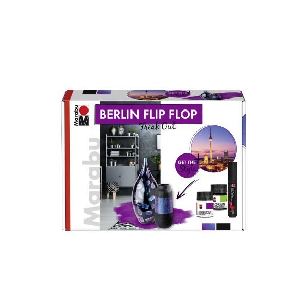 """Хамелеонова боя - Комплект Berlin Flip Flop """"Freak Oul"""" Marabu"""