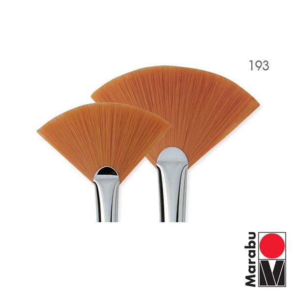 Fino Marabu серия 193 - Четки ветрило за рисуване с фин синтетичен торейски косъм