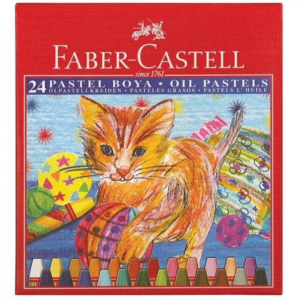 Маслени пастели 24 цв. - Faber Castell