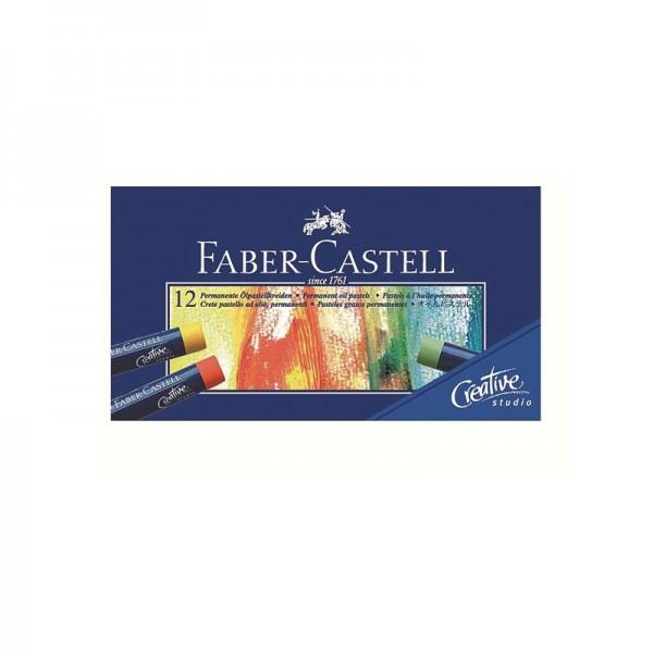 Маслени пастели 12 цв. Goldfaber - Faber Castell