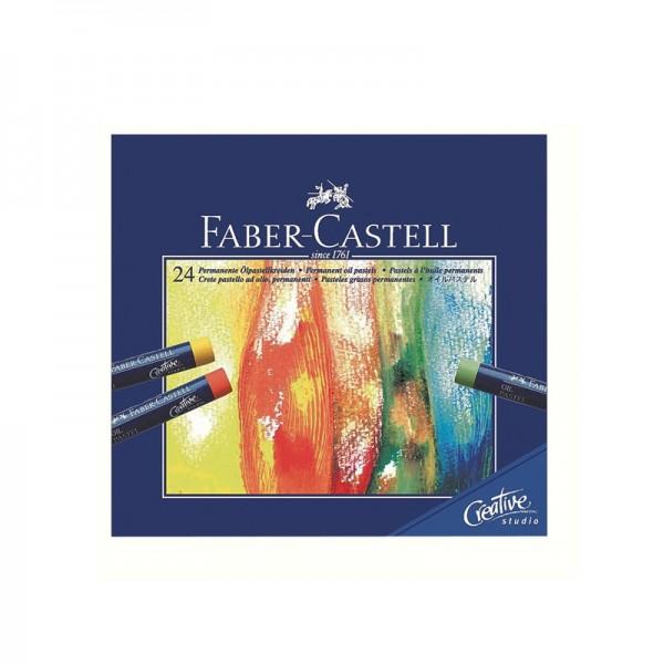 Маслени пастели 24 цв. Goldfaber - Faber Castell
