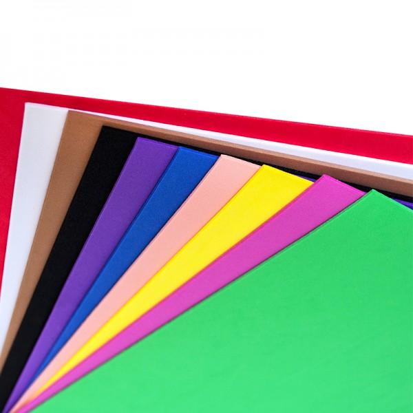 Слънчоглед лист фоам 2 mm, А4, пакет 10 листа от един цвят
