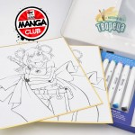 Комплект за манга LISA - GO MANGA ALCOHOL MARKER KIT