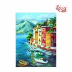 Картина за Рисуване по Контури : Rosa : 30 x 40 cm : Морски Пейзажи No. 1