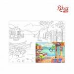 Картина за Рисуване по Контури : Rosa : 30 x 40 cm : Морски Пейзажи No. 3
