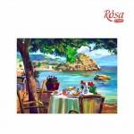 Картина за Рисуване по Контури : Rosa : 30 x 40 cm : Морски Пейзажи No. 4