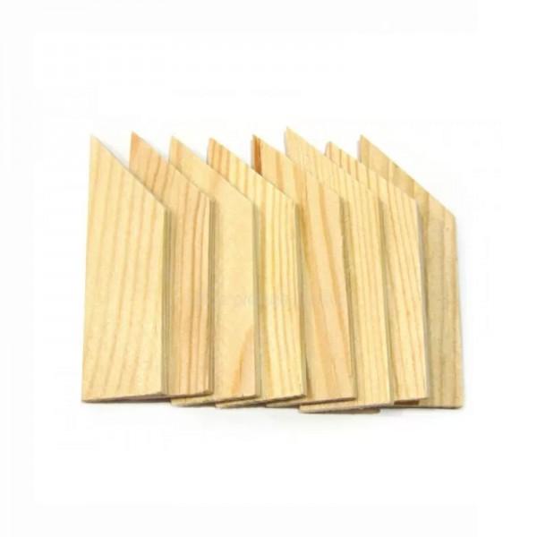 Клинчета за Дървена Подрамка No.2, Rosa комплект с 8 бр