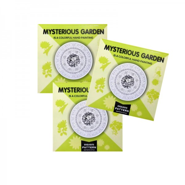 Рисувателна книга - Mysterious Garden